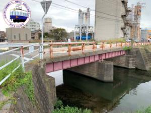 阿瀬知川橋梁跡