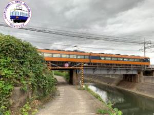 鹿化川信号所跡の橋台